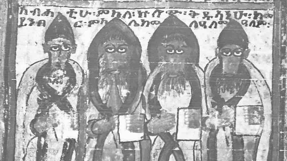 Early Miniatures of Ethiopians