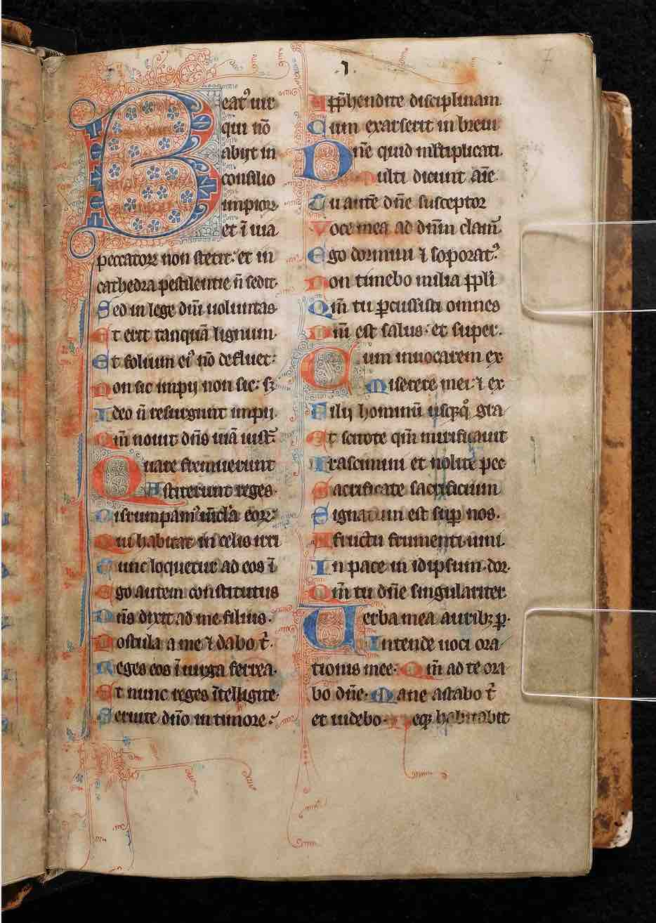 Bethune Breviary-Missal from 13th/14th-c. France (<a href='https://w3id.org/vhmml/readingRoom/view/511651'>Bethune Ms. 2</a>)