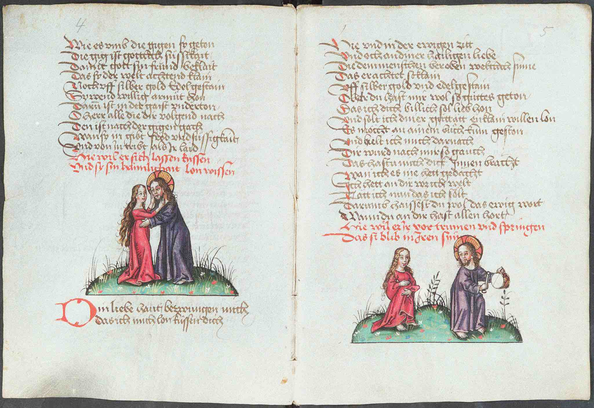 15th-c. German manuscript from Martinus-Bibliothek, Mainz (HMML 35671)