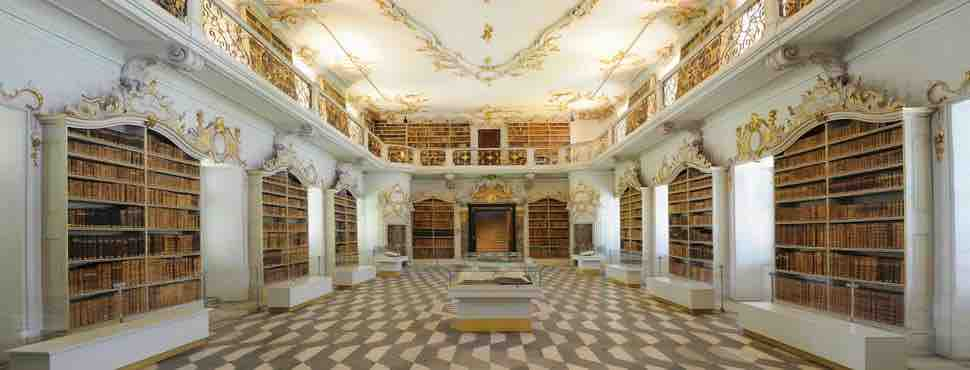 Neustift Augustiner-Chorherren-Bibliothek at the Augustinian Abbey of Novacella